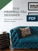 Tu Poti Fi Propriul Tau Designer eBook by Genoveva Hossu