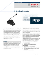 Bosh PRS‑CSR Call Station Remote