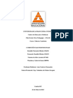ATPS Competências Profissionais Atual
