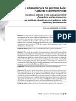 Dalila Oliveira_As Políticas Educacionais No Gov Lula Rupturas e Permanências