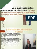 Ponencia Sobre Archivos Institucionales