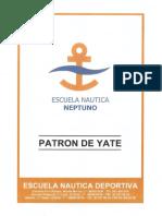 Patron de Yate - Escuela Nautica Neptuno