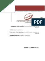 Tarea de Investigación Formativa U01