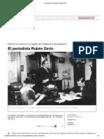 El Periodista Rubén Darío