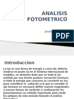 ANALISIS FOTOMETRICO