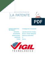 Monografia de La Patente