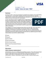 Chip Advisory 19 Dynamic Auth Clarif VTP