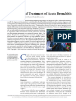 Bronchitis Diagnosis and Management