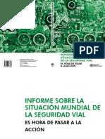 Informe Sobre La Situacion Mundial de La Seguridad Vial_organizacion Mundial de La Salud