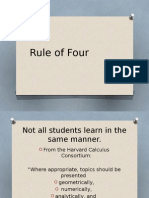rule of four