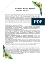 The Lima-Paris  Action Agenda Vision and approach