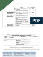Matriz prueba diagnóstico Comunicación 2do sec