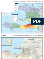 Usg Humanitarian Assistance to Haiti for The