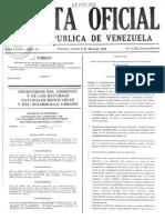 Gaceta+Oficial+5318+Proyecto+de+Clocas+y+Drenaje. Parte I
