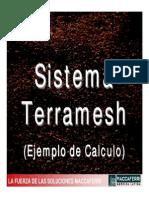 Sistema Terramesh Ejemplo de Calculo