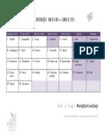 2015 - Calendário #aophotoaday - Junho