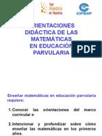 """Orientaciones Didacticas de Las Matematicas en Educaciã""""n Inf (2)"""
