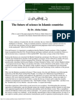 Nobel Laureate - Dr. Abdus Salam - The Future of Science in Islamic Countries