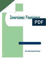 4.- INVERSIONES FINANCIERA