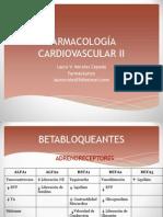 Farmacología Cardiovascular II