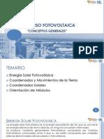 Conceptos generales Energía Fotovoltaica