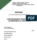 Contaminarea Cu Pesticide