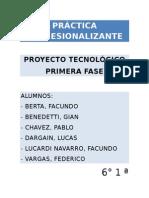 Ejemplo de Proyecto Tecnologico
