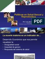 Políticas en Salud Sexual y Reproductiva