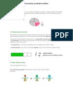 Fracciones y Números Mixtos