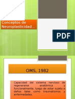 Conceptos de Neuroplasticidad