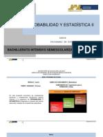 Probabilidad y Estadistica II 0