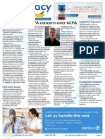 Pharmacy Daily for Mon 01 Jun 2015 - SHPA concern over 6CPA, WA warns on premises, ASMI cuts fees for SMEs, 6CPA chemotherapy alert and much more