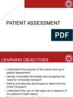 Patient Assessment 2011
