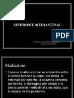 SINDROME MEDIASTINAL