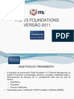 Itil v3 Foundations 2011