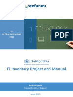 IT Project and Manual (ServiceNow)
