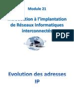Introduction à l'Implantation de Réseaux Informatiques Interconnectés