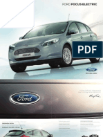 Ford Focus Electric - Broschuere