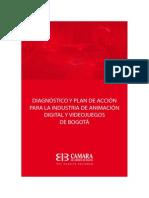 Estudio Sector Animación Digital y Videojuegos Bogotá