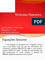 Equação Linear