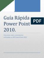 Guia Rápida de Ms Powerpoint 2010