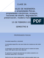 Clase 26 Madera II