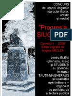 """Progresia ȘIUGARIU"" 2009 (poetul-erou Ion SOREANU-SIUGARIU)"