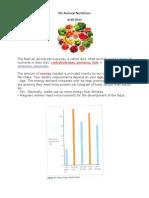 05 Animal Nutrion Biology Notes IGCSE 2014