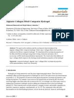 Alginate Collagen Hydrogel