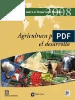 Banco Mundial Informe-sobre-el-Desarrollo-mundial-2008 Rev 30 04 15