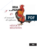 Braunstein Memoria y Espanto