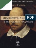 Quem Escreveu Shakespeare_ - Shapiro, James