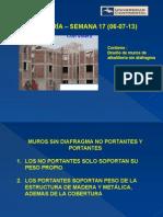 ALBAÑILERIA Semana 17 Diseño Muros Sin Diafragma (06!07!13)