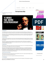 15 Movies That Inspire Entrepreneurship